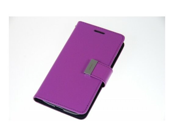 Mercury Etui RICH Galaxy S5 fiolet/granat, notes
