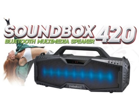 Rebeltec Głośnik Bluetooth SoundBox 420