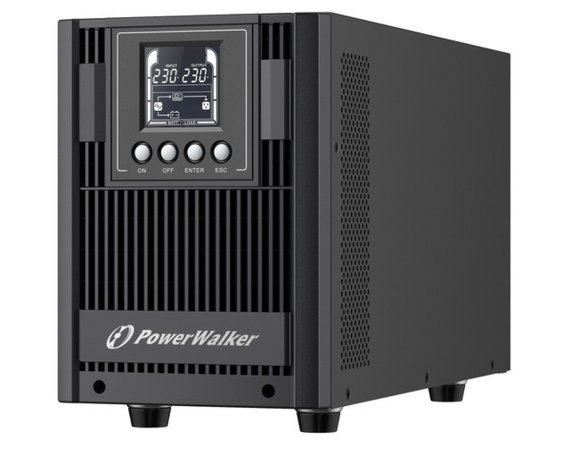 PowerWalker UPS ON-LINE 2000VA AT 4X FR OUT, USB/RS-232, LCD, TOWER, EPO