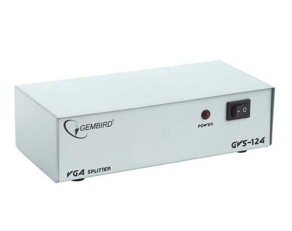 Gembird Video Splitter VGA 4 Monitory