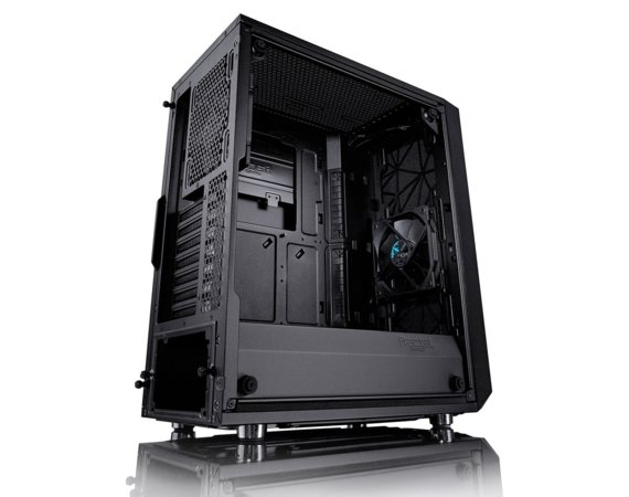 Fractal Design Meshify C Blackout Tempered Glass 2.5'/3.5' drive capacity  uATX/ATX/ITX