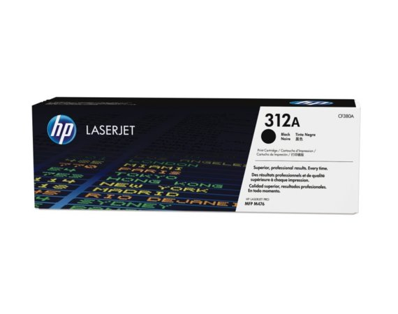 HP Inc. Toner 312A Black 2.4k CF380A
