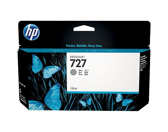 HP Inc. Tusz HP 727 130 ml Gray B3P24A