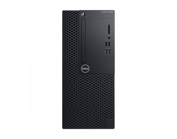 Dell Komputer Optiplex 3060MT W10Pro i5-8500/8GB/1TB/Intel UHD 630/DVD RW/KB216/MS116/260W/3Y NBD