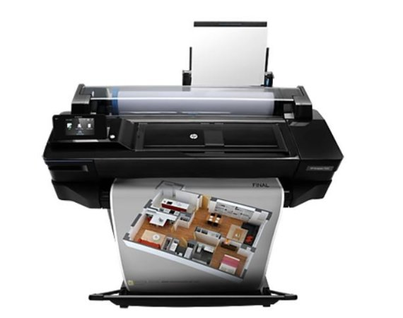 HP Inc. DESIGNJET T520 24in ePrinter CQ890C