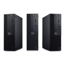 Dell Komputer Optiplex 3070 SFF W10Pro i5-9500/8GB/256GB SSD/Intel UHD 630/DVD RW/KB216 & MS116/3Y BWOS