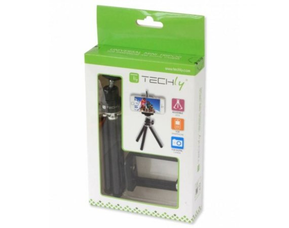Techly Statyw Selfie mini do smartfona/aparatu, regulowany