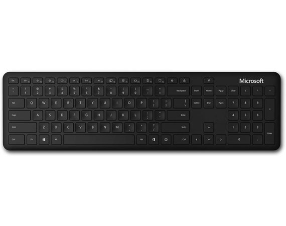 Microsoft Klawiatura MS Bluetooth Keyboard Black QSZ-00013