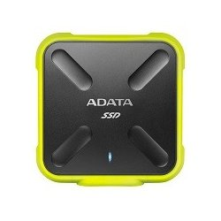 Adata SSD External SD700 512G USB3.1 Durable Żółty