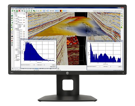 HP Inc. Monitor 27 Z27s IPS 4K Display J3G07A4