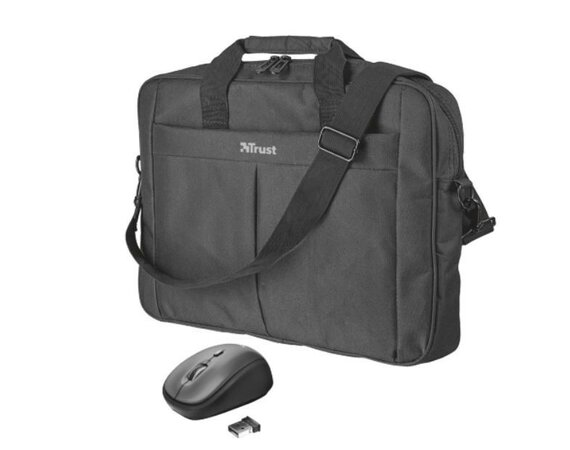 Trust Primo 16 Bag with wireless mouse