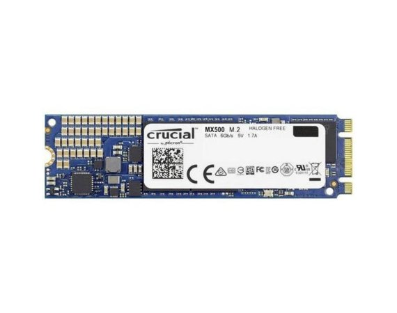 Crucial MX500 500GB M.2 Sata3 2280 560/510 MB/s