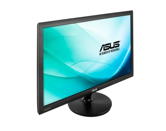 "Asus 24"" VS247HR 16:9, 2 ms, HDMI/DVI-D/VGA/Audio"