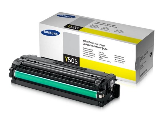 HP Inc. Samsung CLT-Y506S Yellow Toner