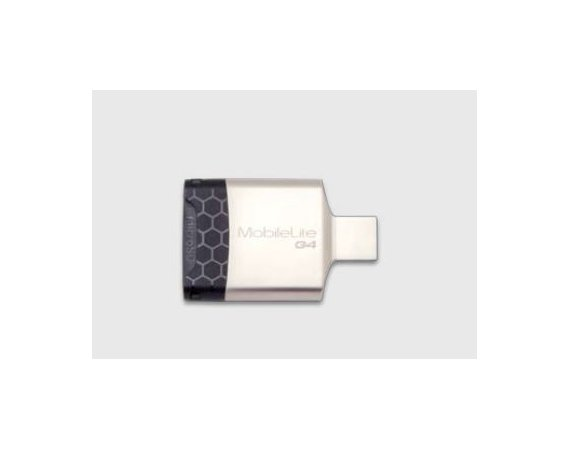 Kingston Czytnik Kart USB3 SDHC/microSDHC METAL