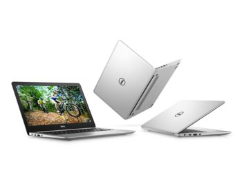 "Dell Inspiron 5370 Win10Home i7-8550/256GB/8GB/AMD Radeon 530/13.3""FHD/38WHR/Silver/1Y NBD + 1Y CAR"