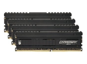 Ballistix DDR4 Elite 32GB(4*8GB) /3466 CL16 SR x8