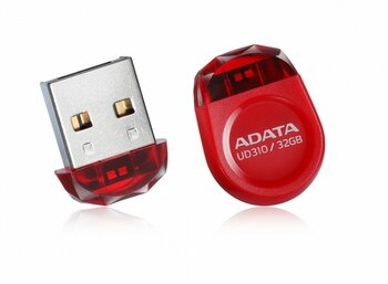 Adata DashDrive Durable UD310 32GB USB2.0 czerwony - micro