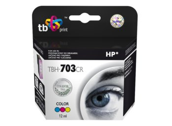 TB Print Tusz do HP DJ D730/F735 Kolor refabrykowany TBH-703CR (HP nr 703 CD888AE)