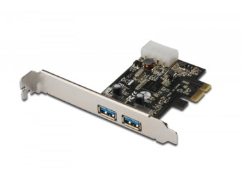 Digitus Kontroler USB 3.0 5Gbps PCI Express 2-porty, NEC D720200