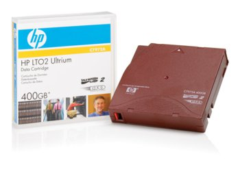 HP LTO2 / Ultrium2 Data Cartridge pojemnoć 200/400GB (C7972A)