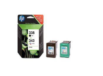 HP Combo Pack Tusz 338 + 343 SD449EE