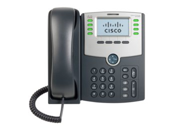 Cisco Telefon IP 8-line PoE PCPort Displ SPA508G