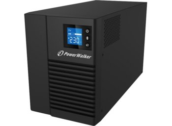 PowerWalker UPS LINE-INTERACTIVE 1000VA 8X IEC 230V OUT, PURE   SINE WAVE, RJ11/45 IN/OUT, USB HID, LCD