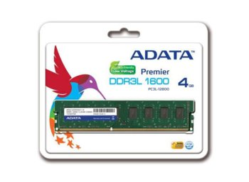 Adata DDR3 1600 UDIMM 4GB Tray (512x8) CL11 LV
