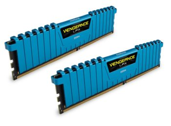 Corsair DDR4 Vengeance LPX 16GB /3000 (2*8GB) BLUE CL15-17-17-35