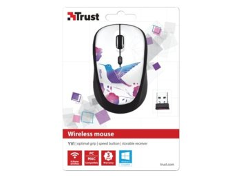 Trust Yvi Wireless Mouse - bird