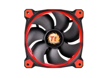 Thermaltake Wentylator - Ring 14 LED Red (140mm, LNC, 1400 RPM) BOX