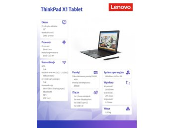Lenovo ThinkPad X1 Tablet 20GG000EPB