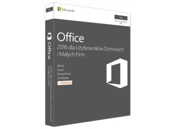 Microsoft Office Mac 2016 Home & Business ENG 32-bit/x64 P2  W6F-00952. Stary P/N: W6F-00550