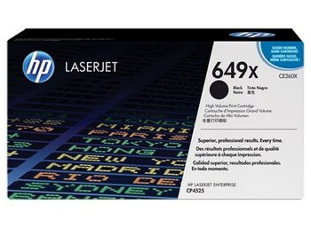 HP Inc. Toner 649X Black Contract LJ CE260XC