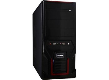 Gembird Obudowa Midi Tower CCC-D1-03 black