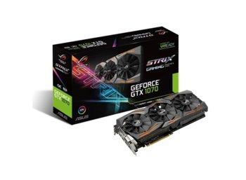 Asus GeForce GTX 1070 STRIX 8GB DDR5 256BIT DVI/HDMI/DP
