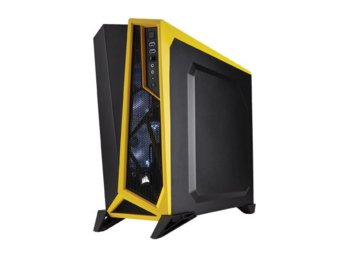 Corsair Carbide Black/ Yellow Mid Tower USB3.0