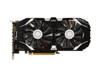 MSI GeForce GTX 1060 OCV1 6GB DDR5 192BIT DVI/HDMI/DP