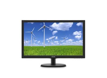 Philips 21.5'' 223S5LSB LED DVI Czarny