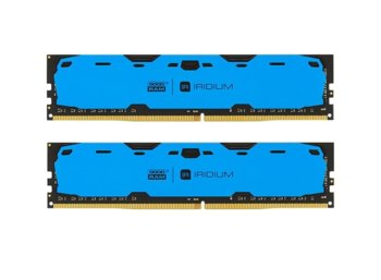 GOODRAM DDR4 IRIDIUM 16GB/2400 (2*8GB)1024*8 Niebieska
