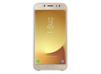Samsung Etui Dual Layer Cover Gold do J7(2017)