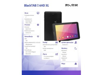 BLOW BlackTAB 7.4HD 3G