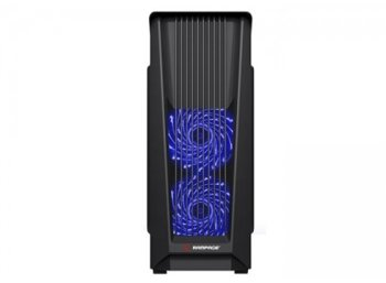 RAMPAGE Racer Plus Black Usb 3.0 + 2.0 LED FAN