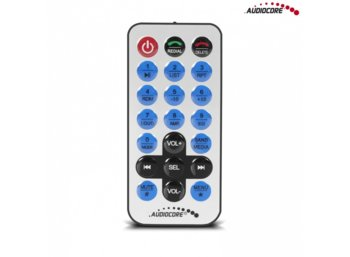 Audiocore Radioodtwarzacz AC9900 MP5 AVI DivX Bluetooth