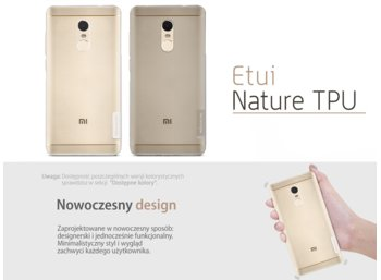 Nillkin Etui Nature Xiaomi Redmi Note 4X Grey