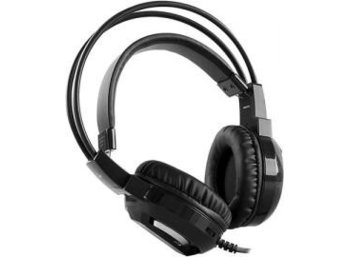 RAMPAGE SN-RW4 Gaming Headset 7.1 USB LED Black