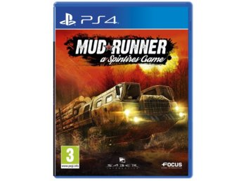 CD Projekt Gra PS4 Spintires MudRunner