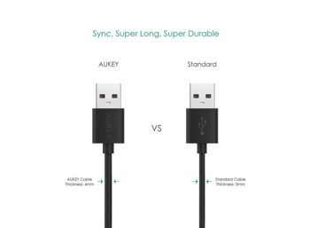 AUKEY CB-D11 szybki kabel Quick Charge micro USB-USB | 3.2m
